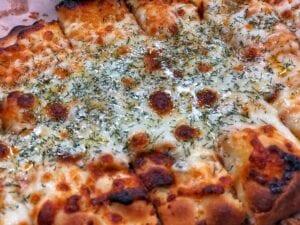 Garlic Dill Cheesy Bread